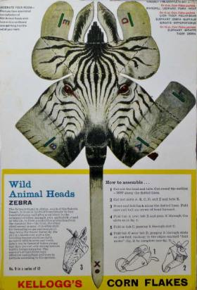 1963-Cornflakes-Wild-Animals-No-9-Zebra_1