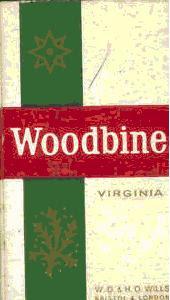 woodbine cigarettes