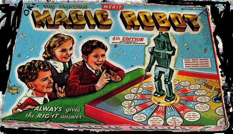 magic robot game