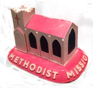 Methodis Mission Collecting Box