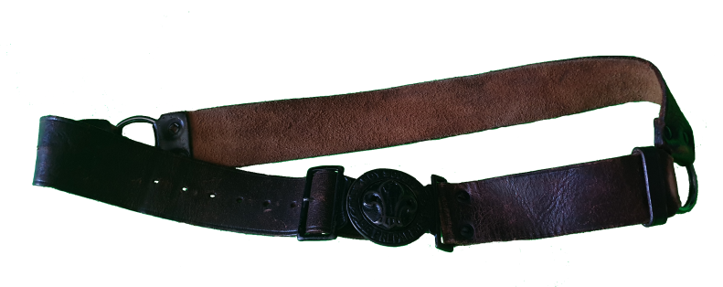 Scout belt from 1968