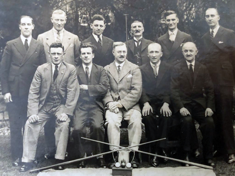 Wrays as Snooker Winners