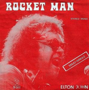 Elton John - Belgium Single 1972
